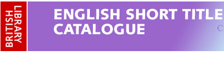 English Short Title Catalogue
